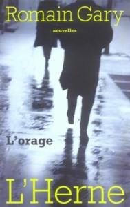 Romain Gary, l'Orage 1935.
